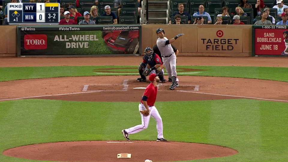 Beltran's two-run homer