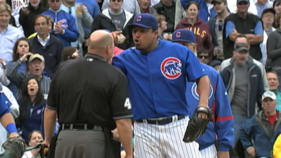 Zambrano is ejected