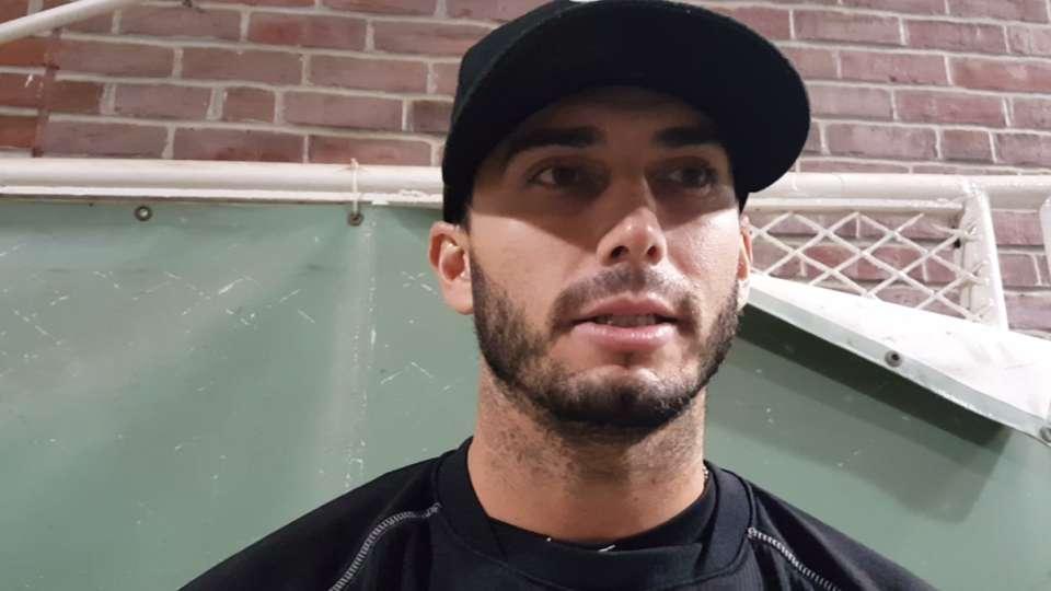 Gonzalez habla del triunfo