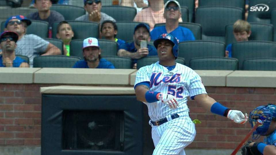 1a097d377a2 Yoenis Cespedes day to day with wrist sprain