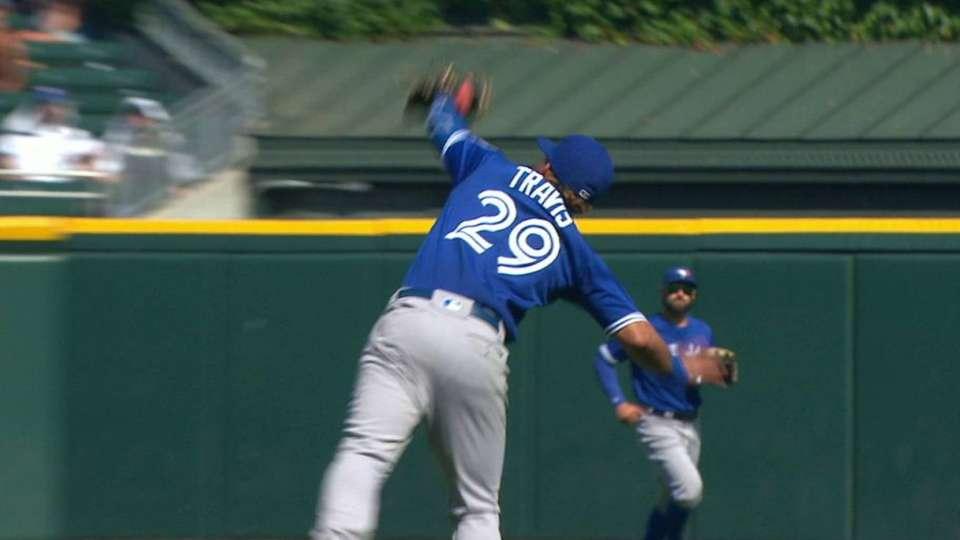 Travis' impressive catch