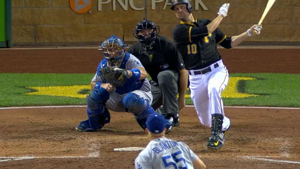 Pirates plate five in the 6th