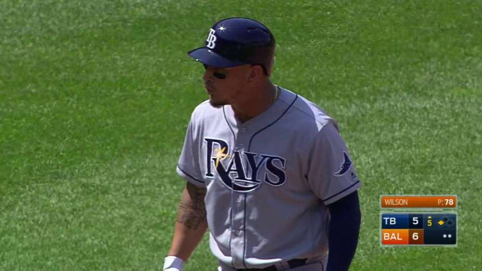 Arcia's double drives in two