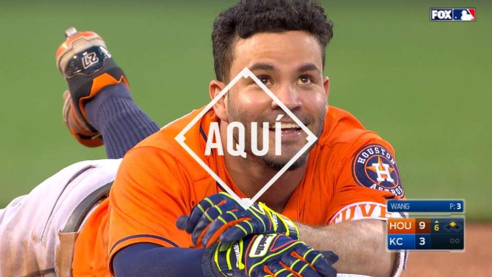 #AQUI: Altuve se va de pecho