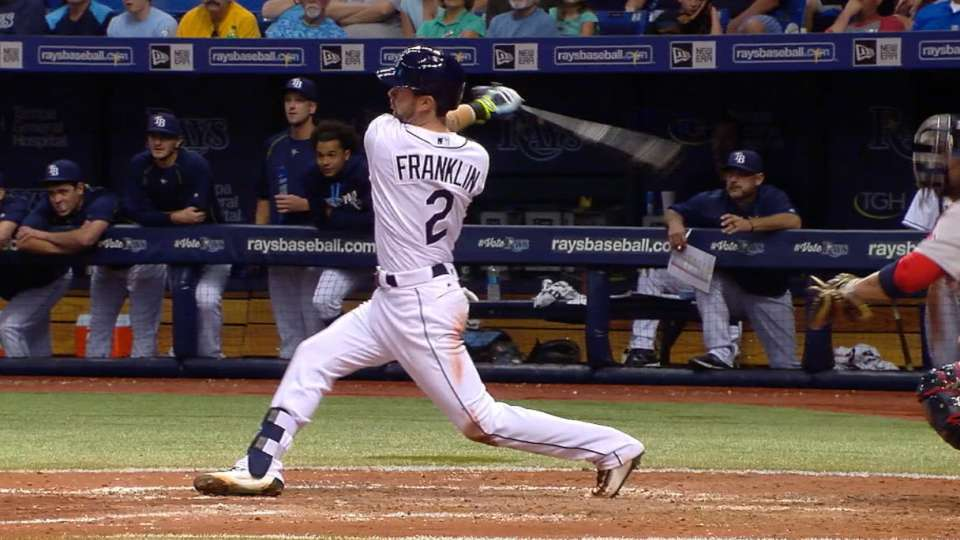Franklin's five-RBI game