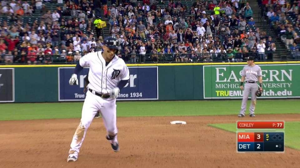 Iglesias' two-run home run