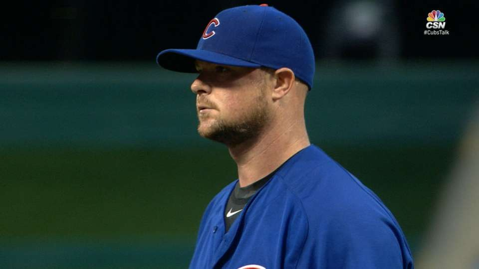 Lester holds Reds to one run