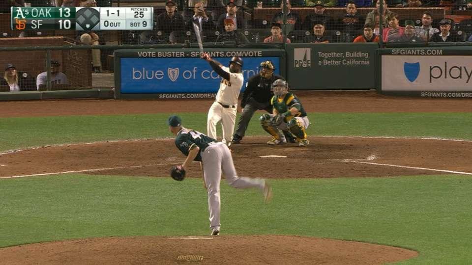 Giants hit back-to-back jacks