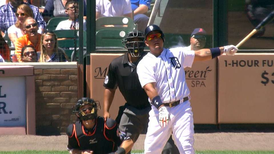 Miggy's big day at the dish