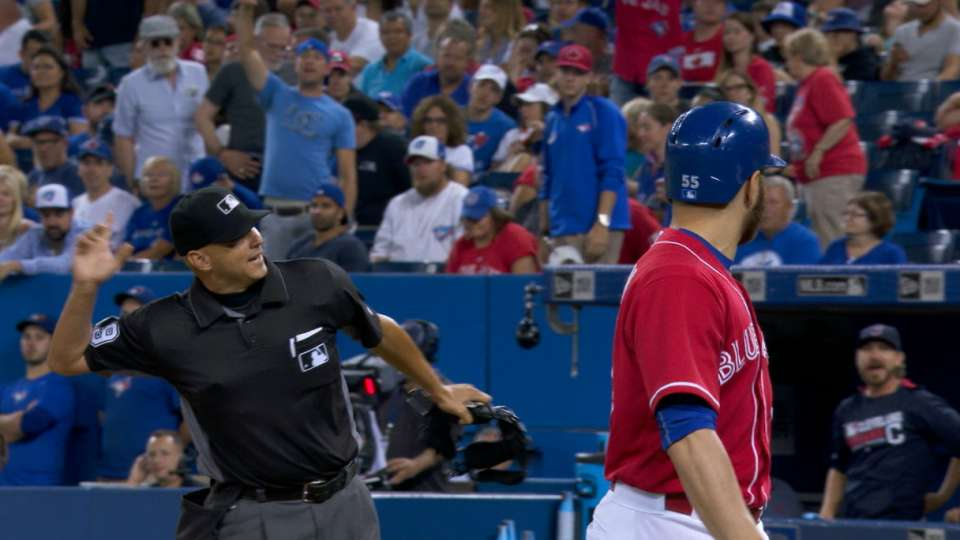 A trio of Blue Jays ejections