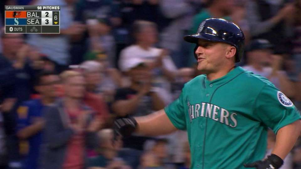 Seager's two-run smash