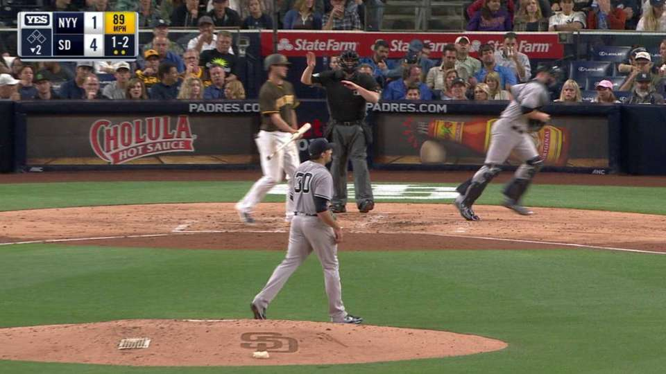 Eovaldi strikes out Myers