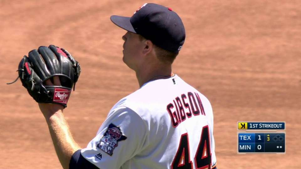 Gibson strikes out Choo