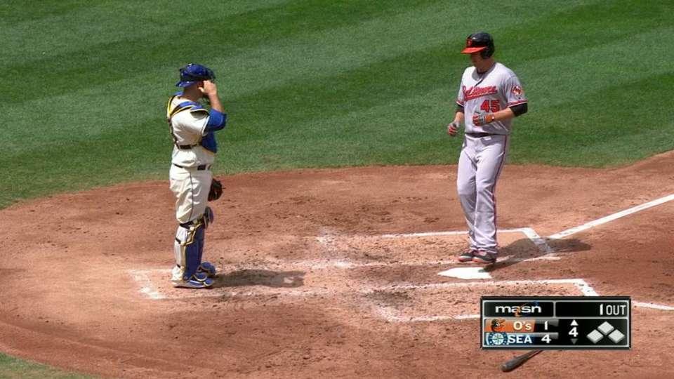 Trumbo's solo home run