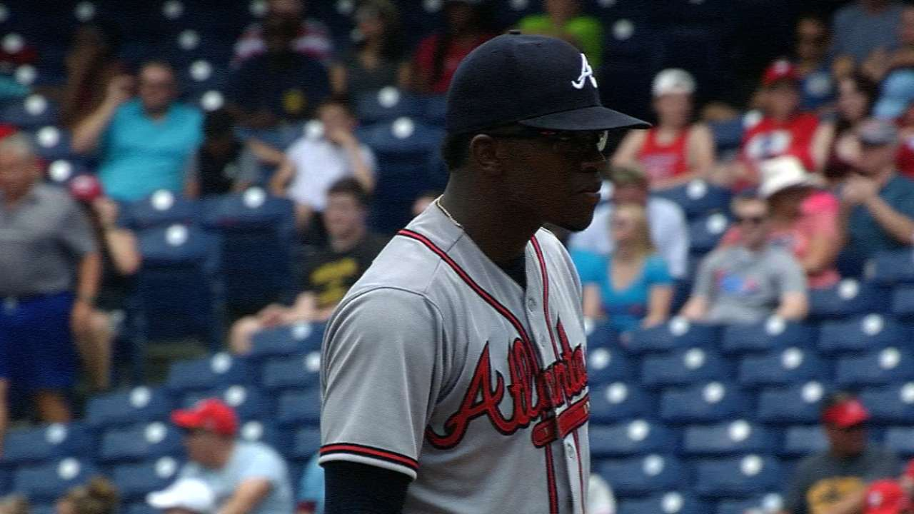 9ba59eb1805 Braves  Tyrell Jenkins makes first MLB start