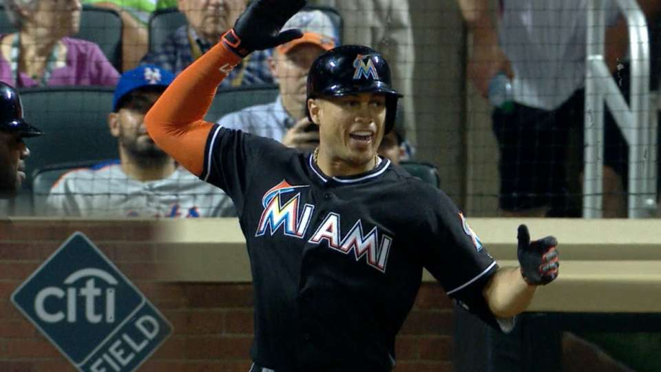 Stanton sizzles against the Mets