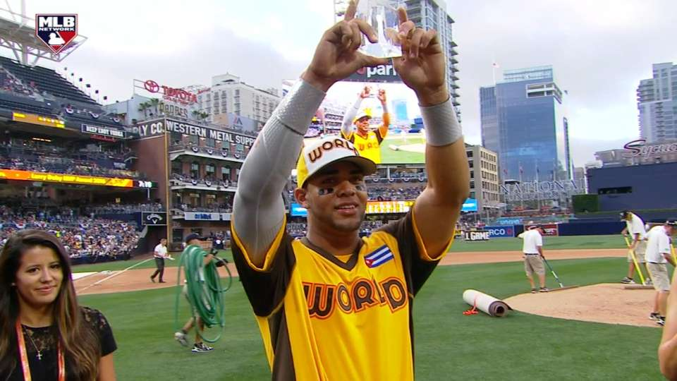 Moncada takes home MVP award