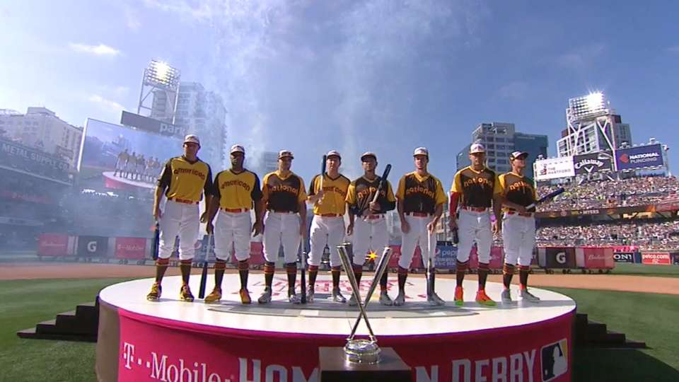 HR Derby players introduced