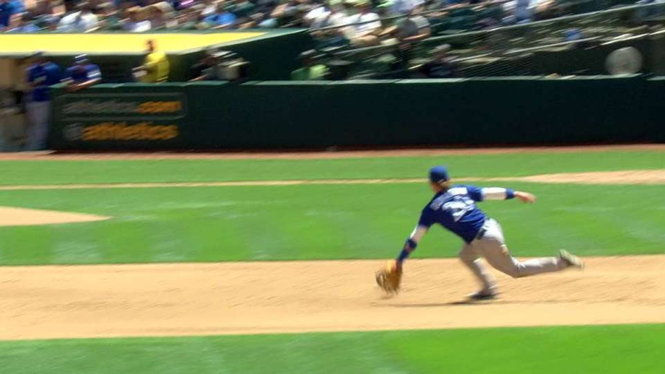 Donaldson flashes the leather