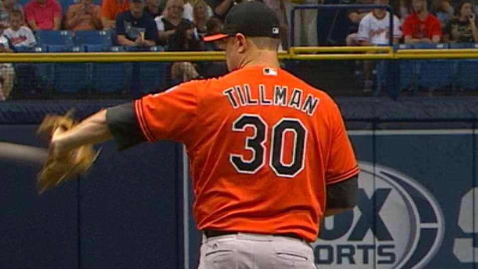 Tillman's one-run start