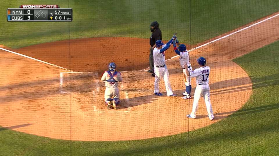 Rizzo's three-run homer