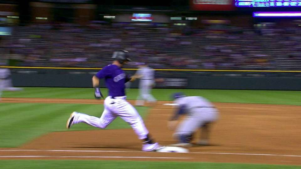 Descalso's infield single
