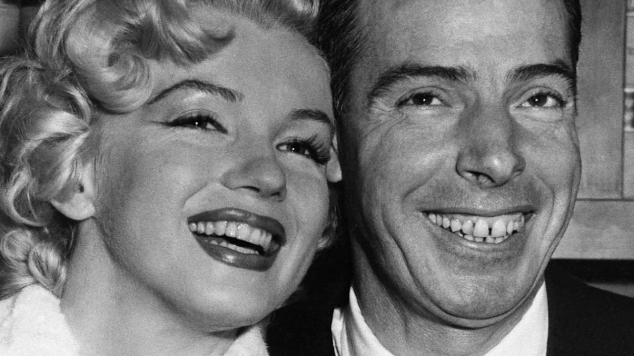 Tbt To The Day Marilyn Married Joltin Joe Dimaggio Monroe Wedding