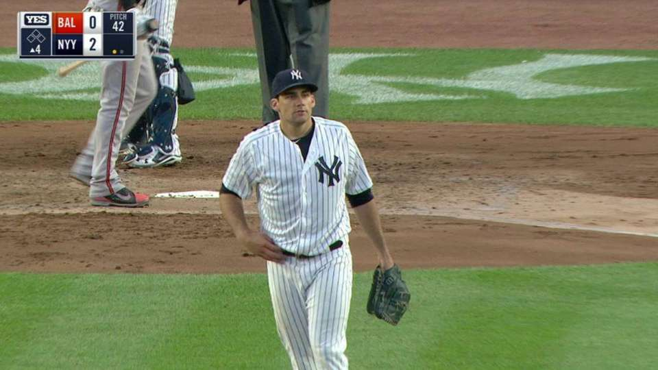 Eovaldi's first strikeout