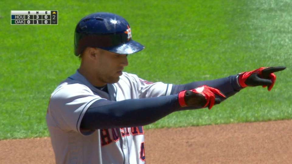 Springer's RBI double
