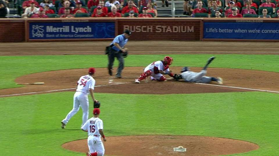 Garcia's play at the plate