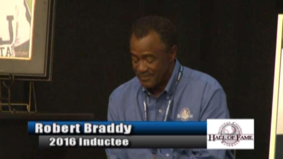 College Baseball HOF: Braddy