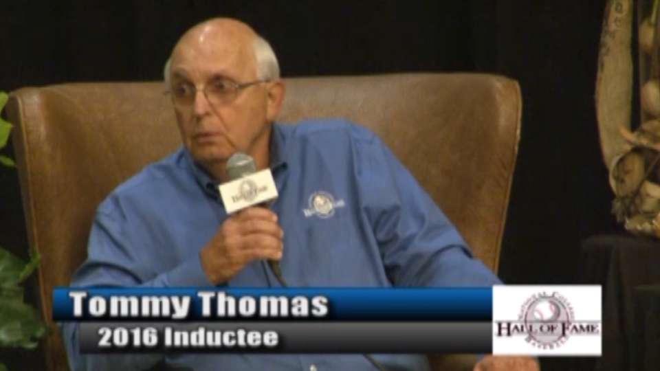 College Baseball HOF: Thomas