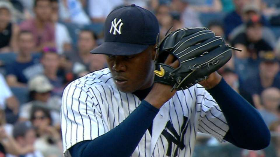 Chapman's strong relief outing