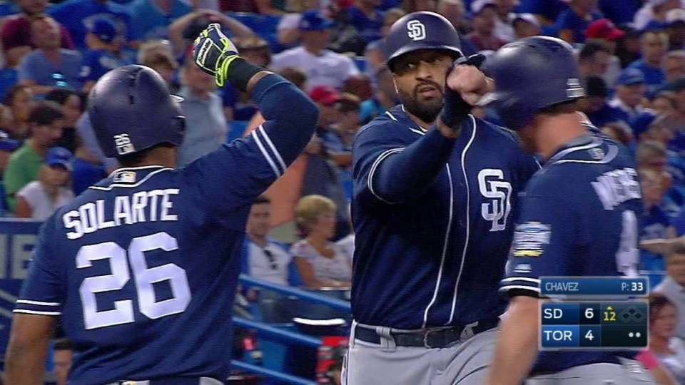 Kemp's 12th inning two-run homer