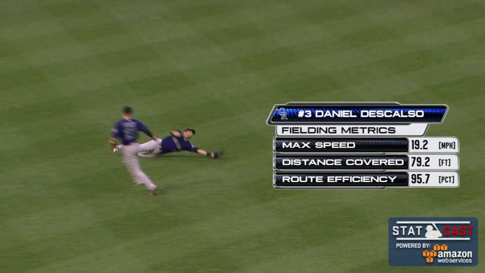 Statcast: Descalso's diving grab
