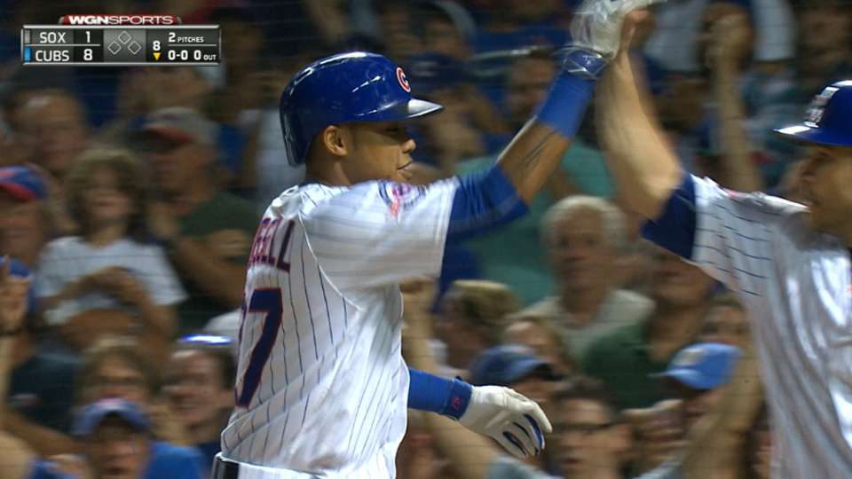 Russell's grand slam in the 8th