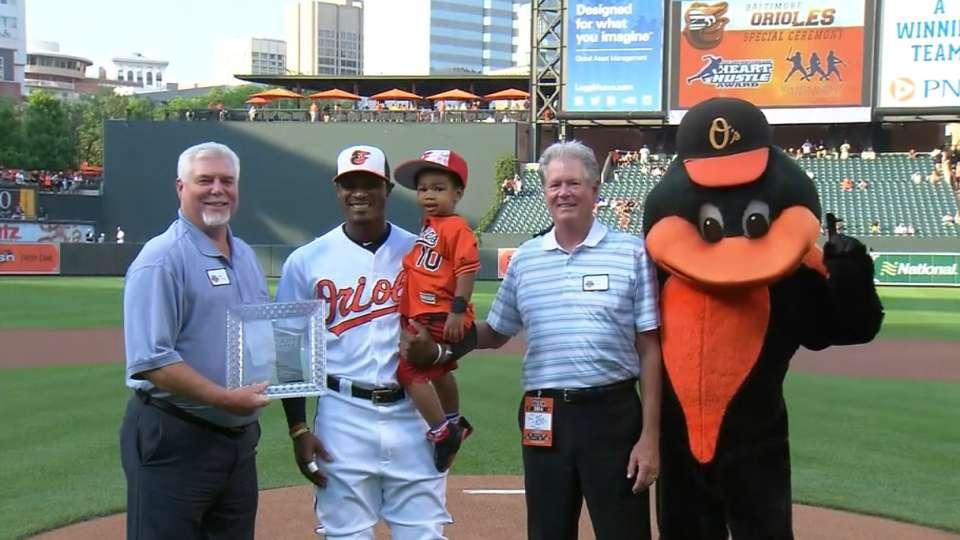 Jones receives Heart and Hustle