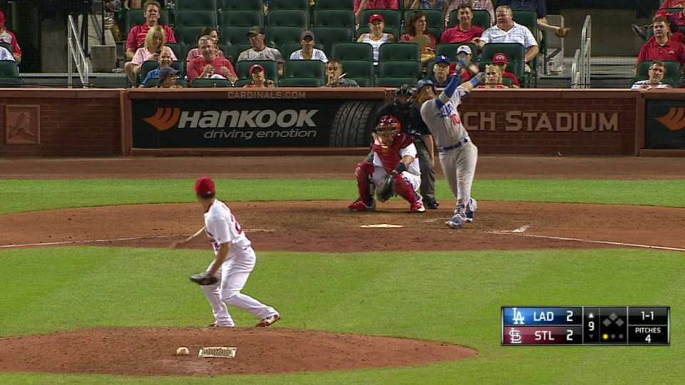 Turner's go-ahead jack to center