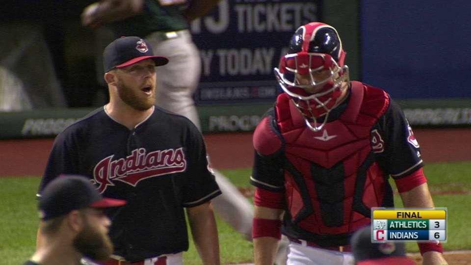 Allen seals Indians' win