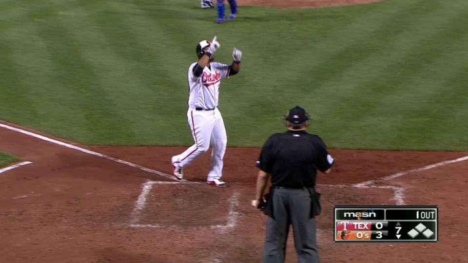 Alvarez's second home run