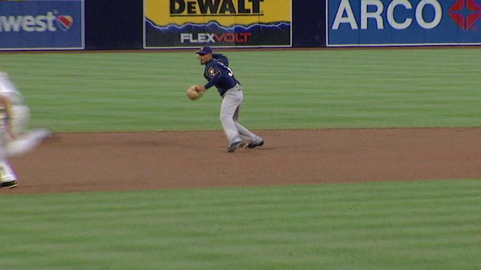 Arcia's intelligent play