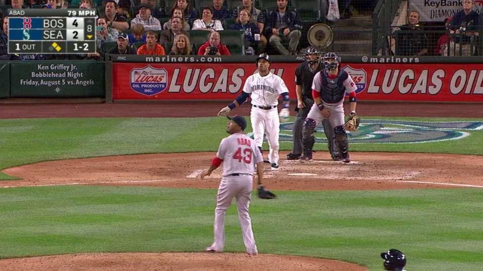 Cano's go-ahead three-run homer