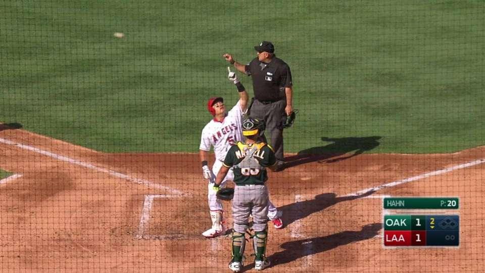 Choi's solo home run