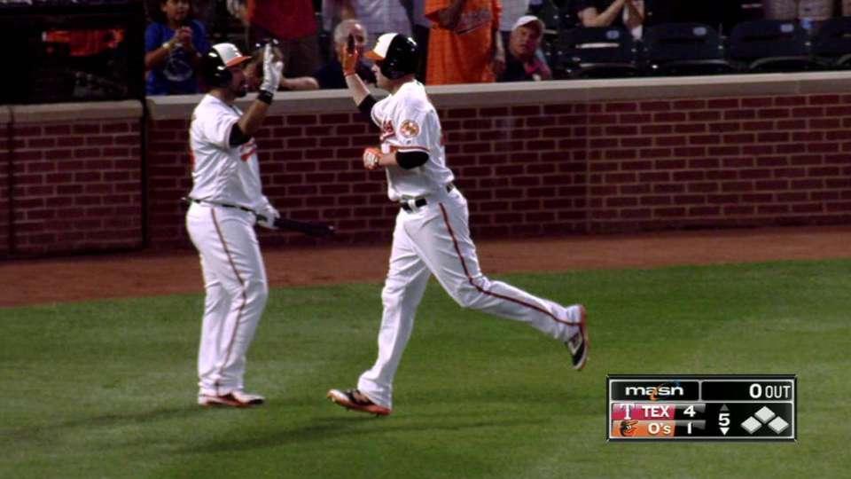 Trumbo's 31st home run