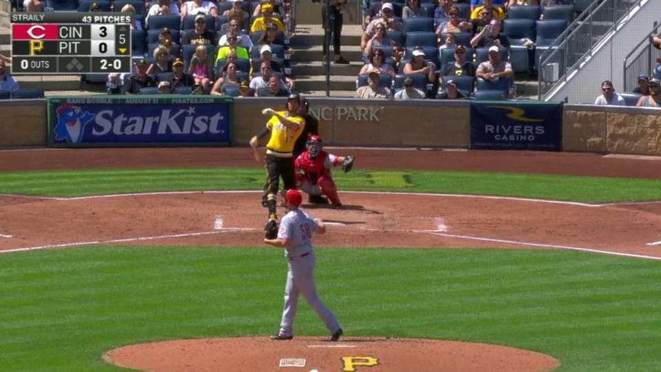 Joyce's long solo home run