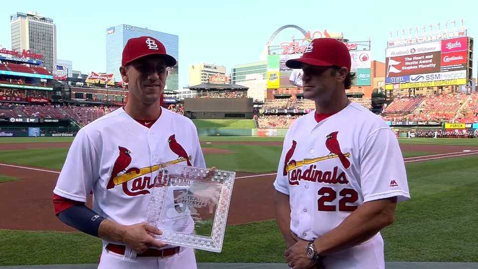 Piscotty gets Heart and Hustle