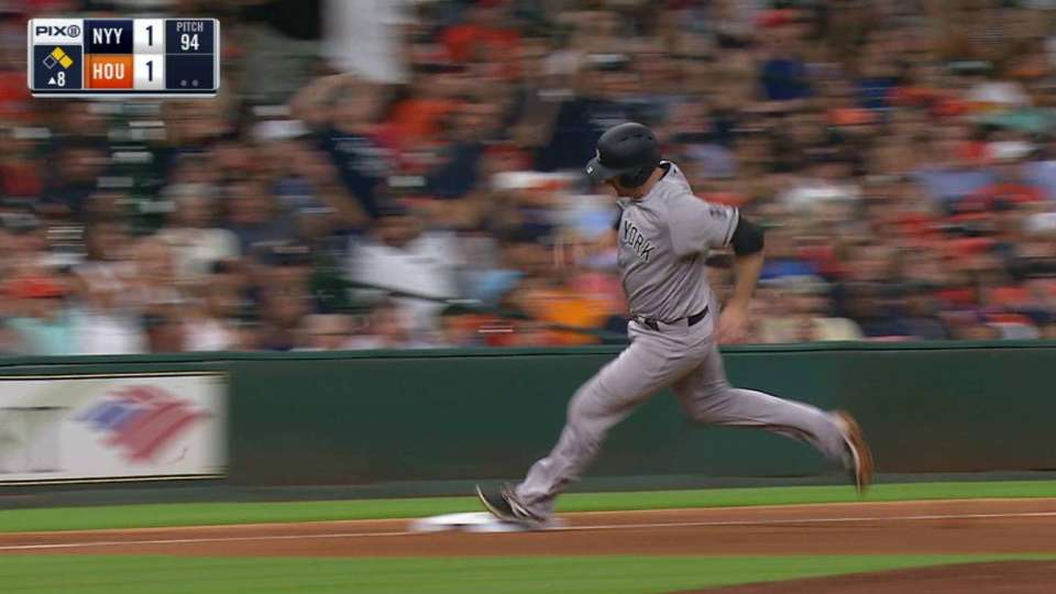 Romine's RBI double