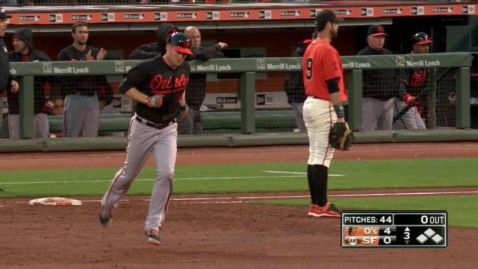 Trumbo's two-run homer