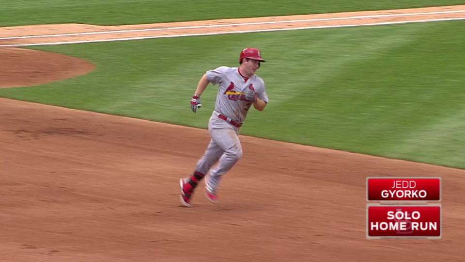 Gyorko's game-tying solo homer
