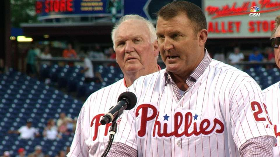 Phillies honor Thome